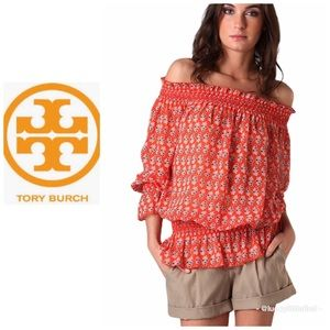 Tory Burch• Orange Laricia Tunic Size 4